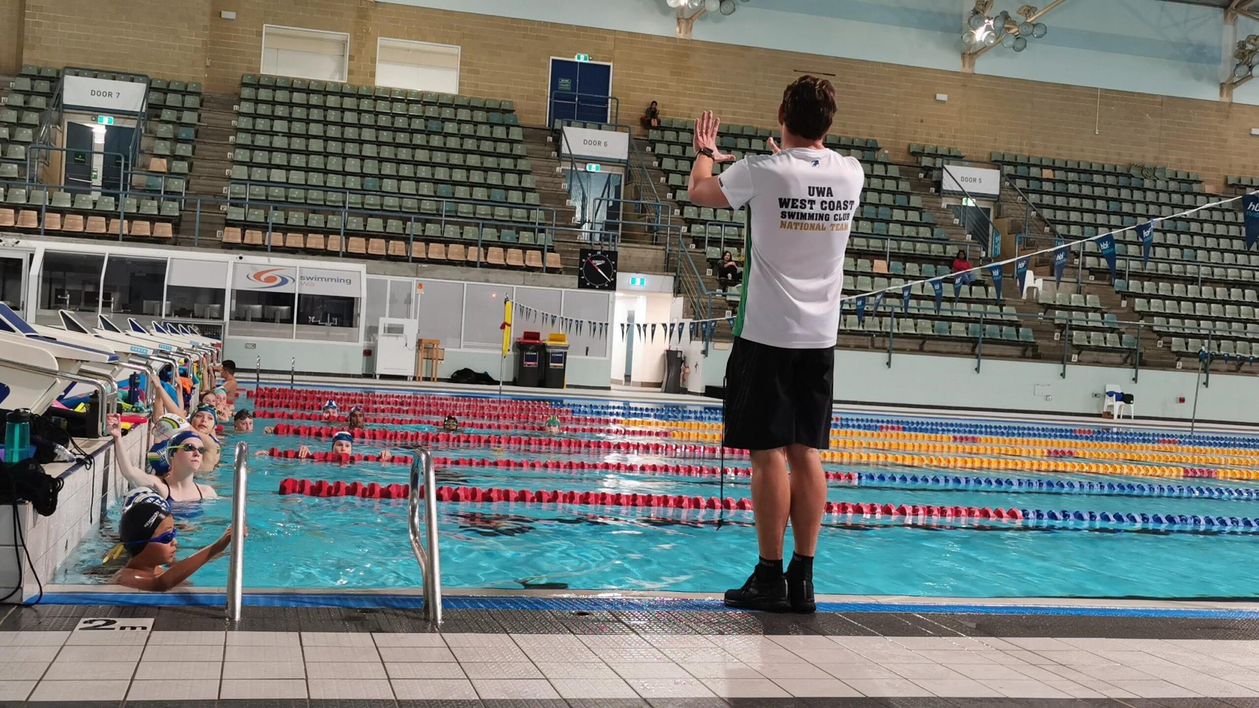 UWA West Coast Swimming Club Squad Administration